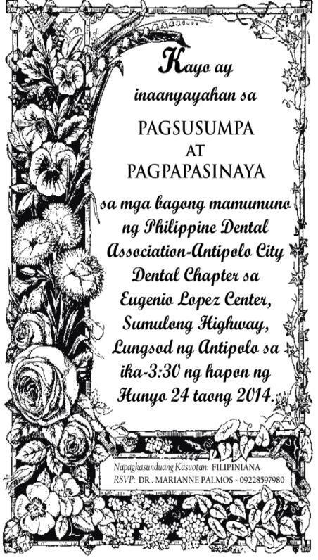 Antipolo City Dental Chapter 14th Induction page 4